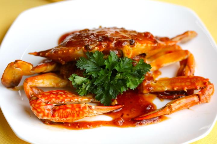 ăn gì ở Vinh, Ghẹ rang me-  top 6 món hải sản, hai san o Vinh, hai san cua Lo, hải sản cửa lò, hải sản ở Vinh