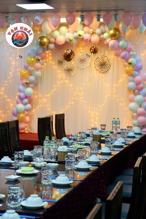 Mặt sau của nhà hàng Vạn Chài tại tp Vinh